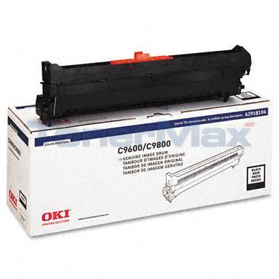 OKIDATA C9600/C9800 TYPE C7 DRUM BLACK